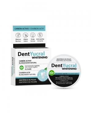 DentYucral Dentífrico en Polvo Carbón Activo 50 gr Tu Cruz Verde