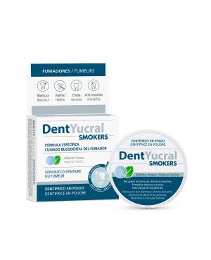 DentYucral Dentífrico en Polvo Smokers 50 gr Tu Cruz Verde