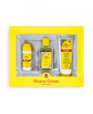 Álvarez Gómez Estuche Colonia  Desodorante Gel de Baño Tu Cruz Verde