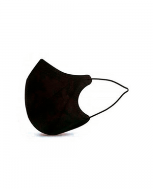 Mascarilla Negra Higiénica Ergo Natural Reutilizable Pack 2 Unidades
