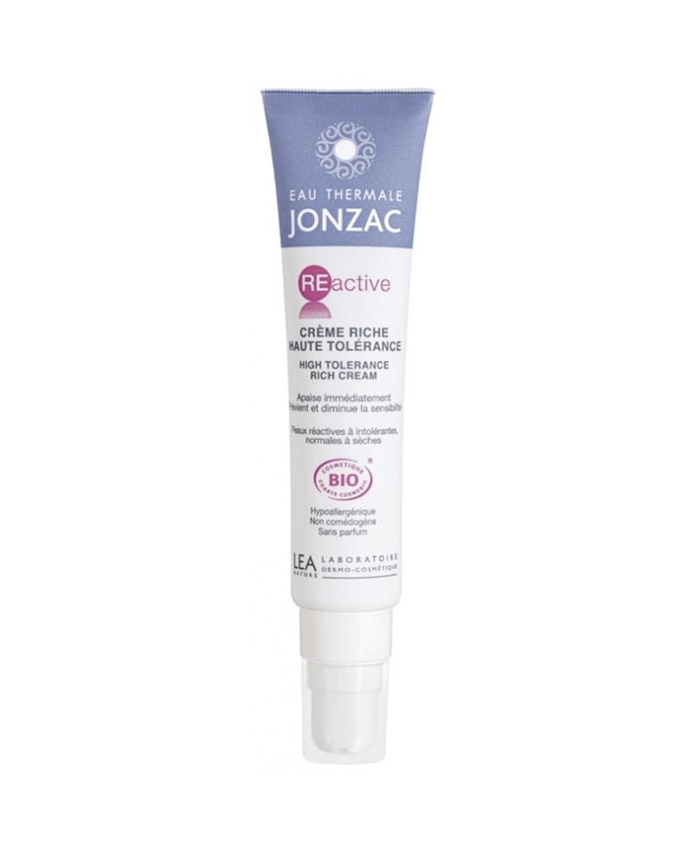 Jonzac Reactive Crema Rica Alta Tolerancia 40 ml Tu Cruz Verde