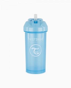 Twistshake Straw Cup 360 ml + 12M azul
