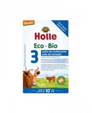 Holle Eco Bio 3 Leche de Crecimiento 600 g